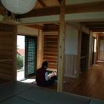 土間玄関と和室