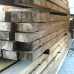 乾燥後の木材