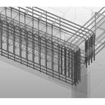 3D ビュー_ X1-Y1(擁壁)検討図