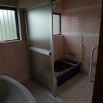 改修前:洗面・浴室