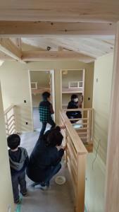 多田邸塗装6