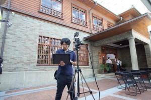 台南愛国婦人会館での3Dスキャン